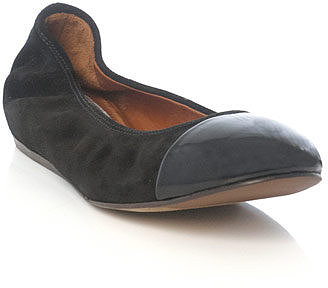 Lanvin Patent-toe ballet flats