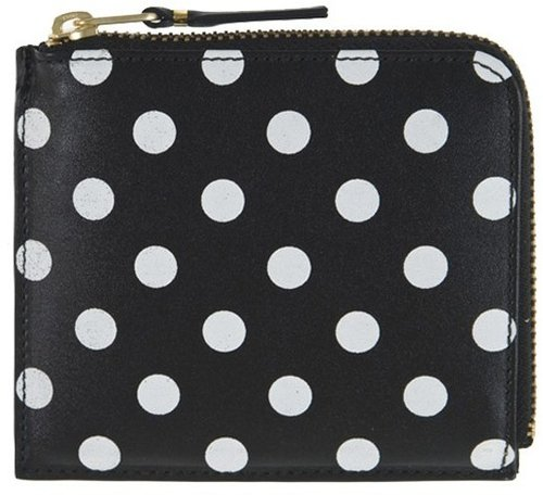 Comme Des Garcons Polka Dot Zip