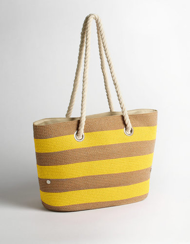 MAGID Striped Tote Bag