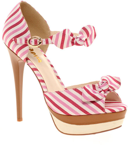 Dollybird Slink Stripe Shoes