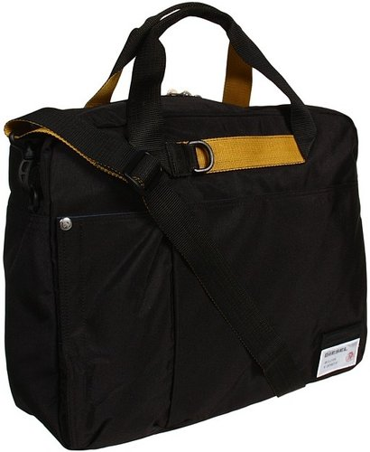 Diesel - Outside Track Ayears (Black) - Bags and Luggage