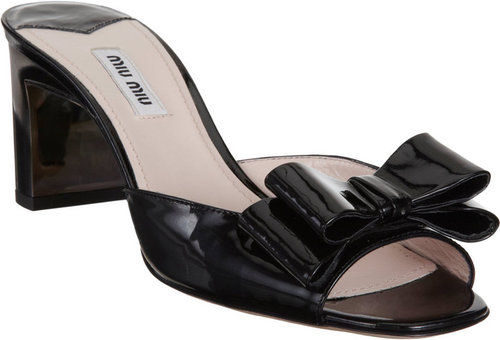 Miu Miu Double Bow Mule