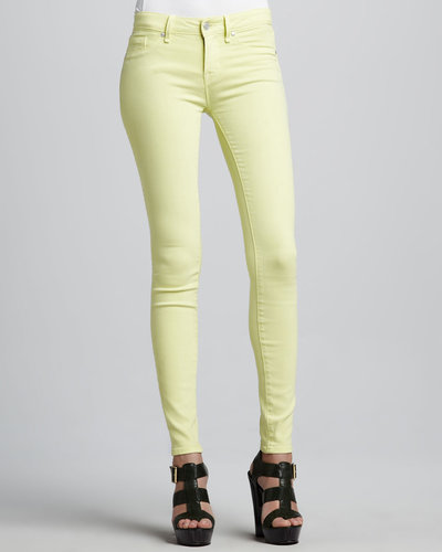 MARC by Marc Jacobs Stick Skinny Jeans, Lemon Sorbet