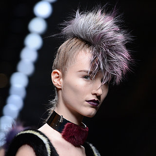 Fendi Fall 2013 Fauxhawk Hairstyle