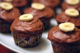 Gooey Banana Cupcakes
