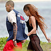Rihanna Wears a Bikini in Hawaii With Chris Brown | Pictures