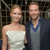 Jennifer Lawrence and Bradley Cooper at Pre-Oscars Party