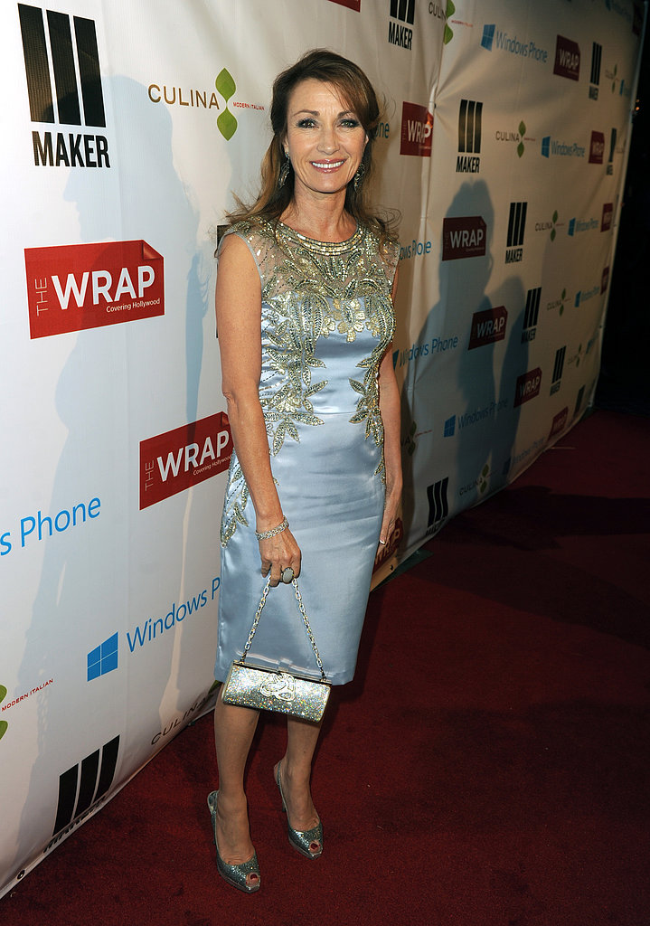 Jane Seymour was on hand to celebrate at a pre-Oscars party in LA.