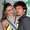 Miranda Kerr and Orlando Bloom PDA Pictures at Global Green