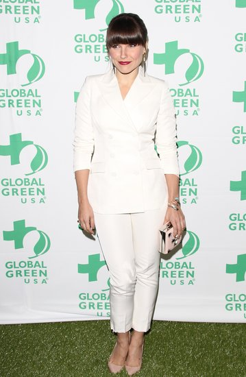 Sophia Bush attended the Global Green pre-Oscars party.