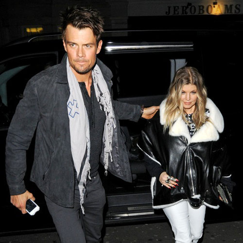 Pregnant Fergie and Josh Duhamel in London | Pictures