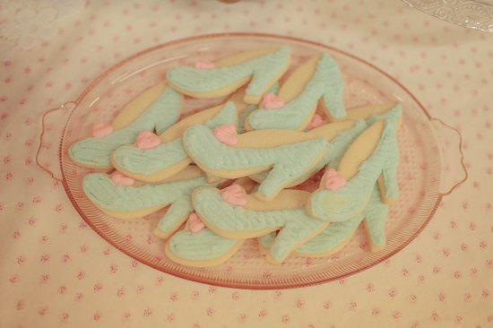 Glass Slipper Sugar Cookies