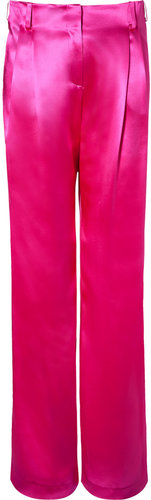 Paul & Joe Dazzling Pink Vilnius Silk Pants