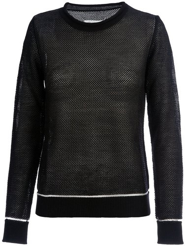Maison Martin Margiela sheer jumper