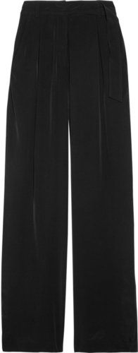Alexander Wang Matte-satin wide-leg  pants