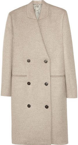 Maison Martin Margiela Double-breasted cashmere coat