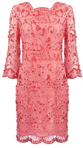 Emilio Pucci beaded lace dress