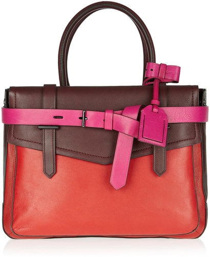 Reed Krakoff Small Boxer tri-tone leather tote