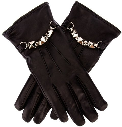 Valentino stud and chain glove
