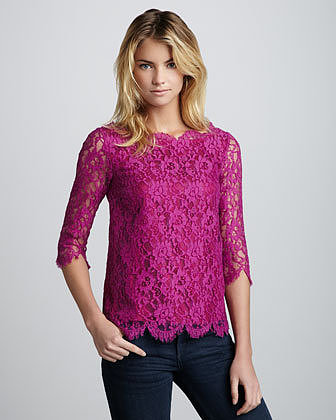 Madison Marcus Elegance Lace Top