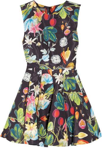 Camilla and Marc Revival printed twill mini dress