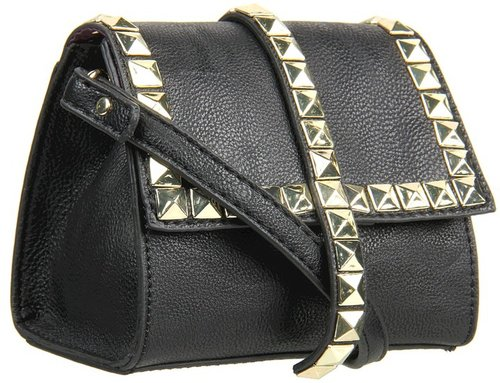 Steve Madden - Styling Mini Stud (Black) - Bags and Luggage
