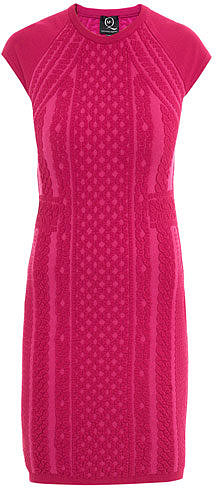 McQ Alexander McQueen Knitted body-con dress