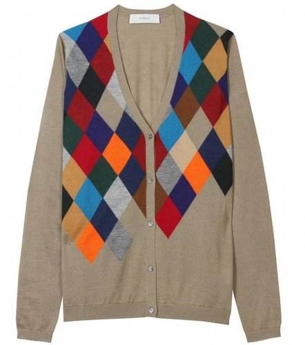 Pringle of Scotland CASHMERE-SILK CARDIGAN