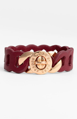 MARC BY MARC JACOBS &#039;Katie&#039; Leather Bracelet