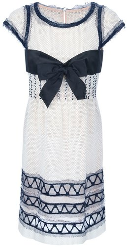 Chanel Vintage bow dress