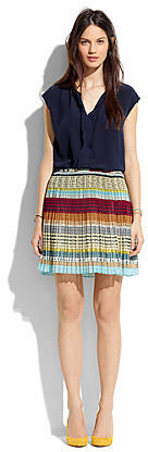Colortread pleat mini