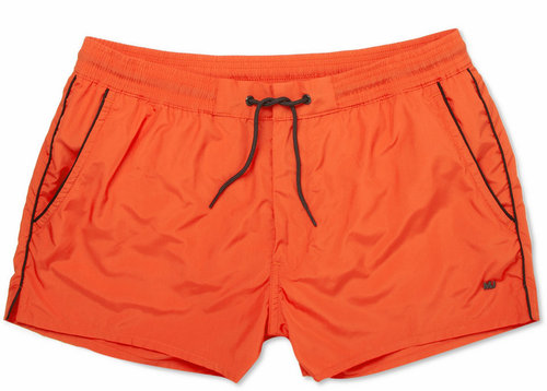 Marc by Marc Jacobs Short-Length Piped Swim Shorts