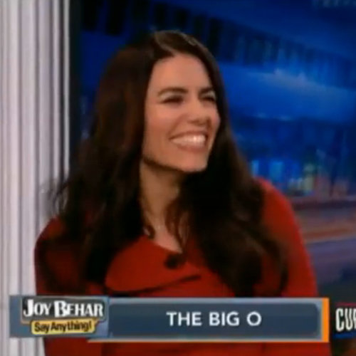 Jaiya Has Orgasm on Joy Behar's TV Show