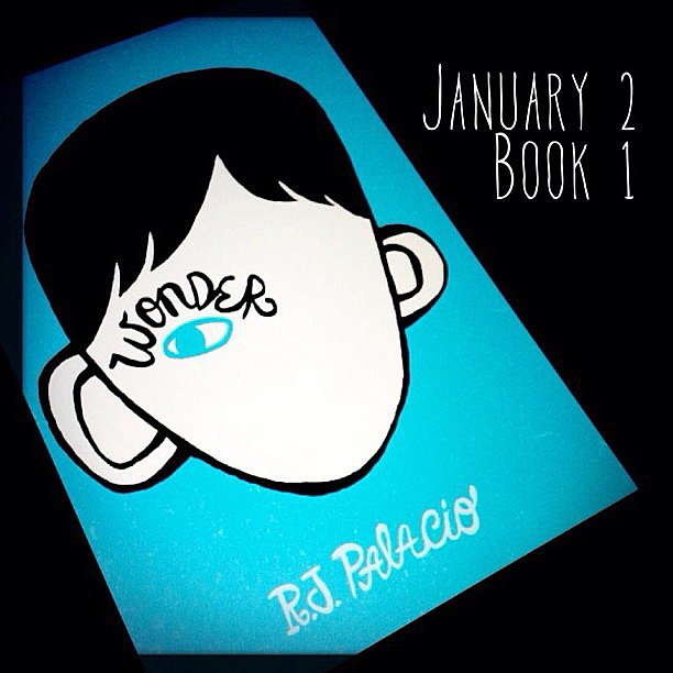 "Skotjay shared a pic of Wonder by R.J. Palacio, explaining, ""This book should be required reading for anyone over the age of 10. Not only because its a good story, but because it actually brings home the point of simple kindness and empathy."""