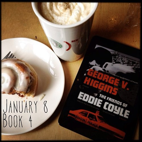 "On his read, The Friends of Eddie Coyle by George V. Higgins, Skotjay noted, ""This thing works. Not only as a cheap pulp novel, and a great thriller, but as a detailed business plan of crime."""