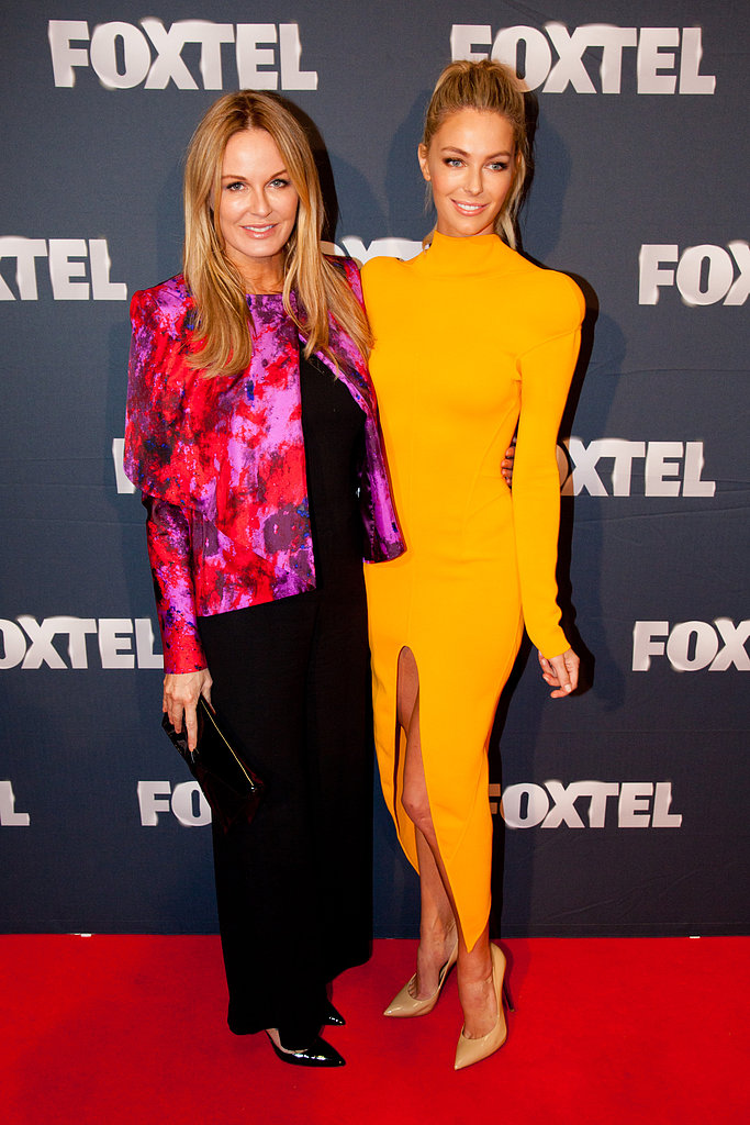 Charlotte Dawson and Jennifer Hawkins