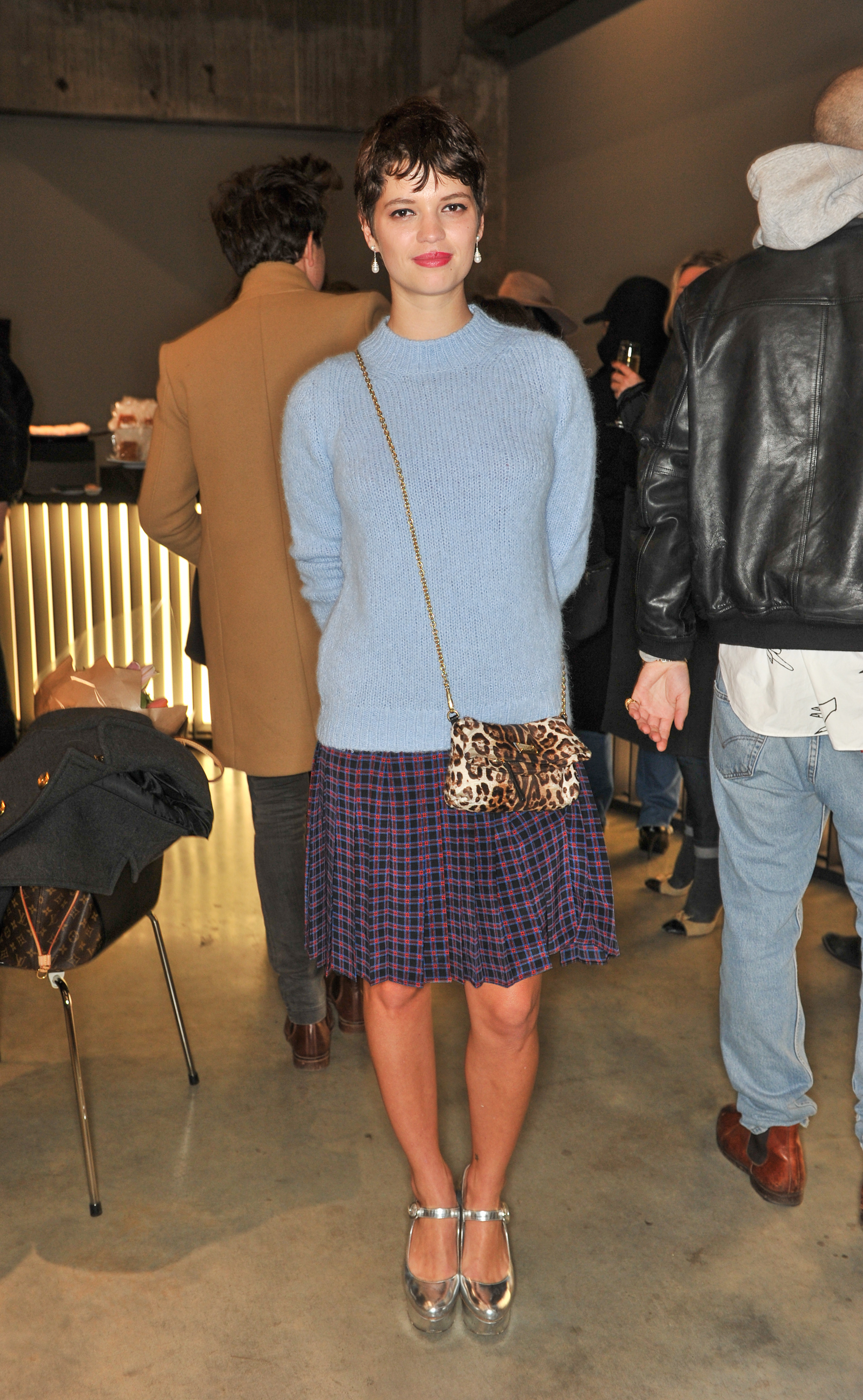 Pixie Geldof at the Fashion East Fall 2013 show in London.