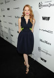 Jessica Chastain struck a pose.