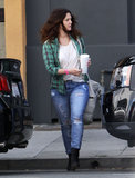 Drew Barrymore had a meeting in Santa Monica.