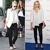 Naomi Watts Wearing White Blazer