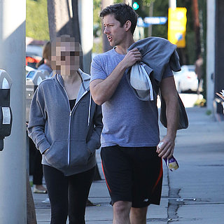 Redheaded Actress Going to Gym With Fiancé | Picture