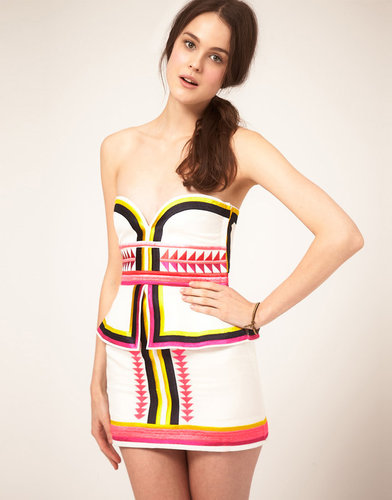 Sass and Bide 'Pick n Mix' Tribal Embroidered Dress