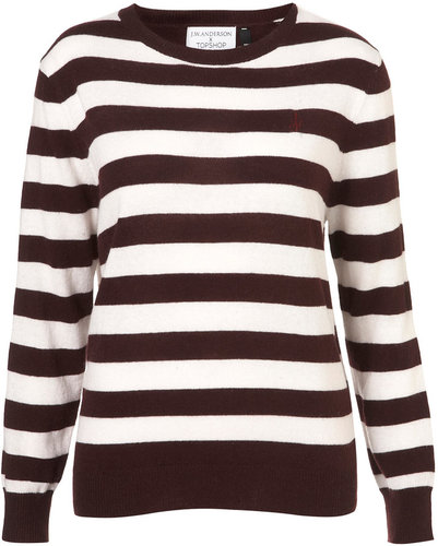 **Breton Stripe Jumper By J.W. Anderson for Topshop