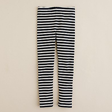 Girls&#039; everyday leggings in getaway stripe