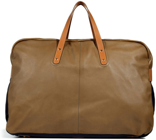 Paul Smith Accessories Beige Lamb Leather Bag