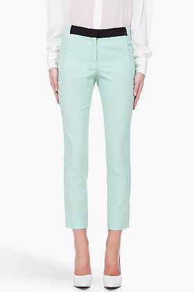 A.L.C. Mint Green Collins Pants
