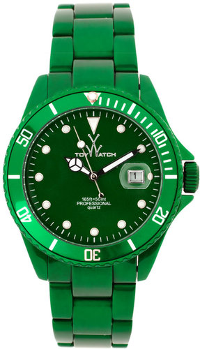 Toy Watch Mens Me03gr Green Steel Strap Watch