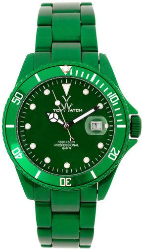 Toy Watch Mens Me03gr Green Steel Strap Watch