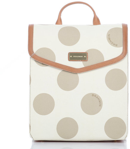 Brahmin Marilyn Polka Dot Back Pack