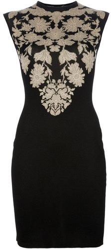 Alexander McQueen floral print dress